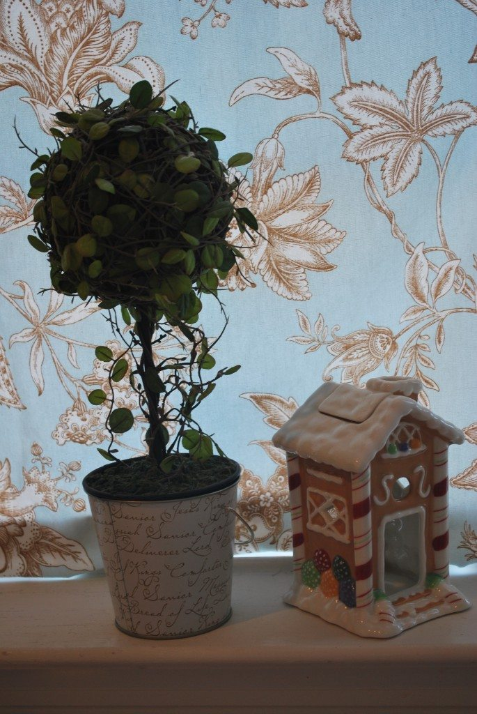 Kitchen Window Topiary