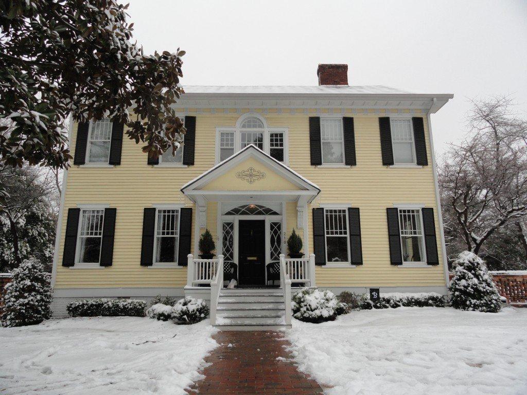 NC house snow