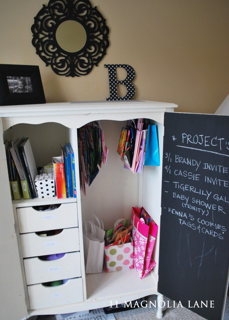 armoire used in office