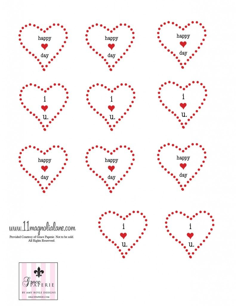 It is a photo of Sly Valentine Labels Printable