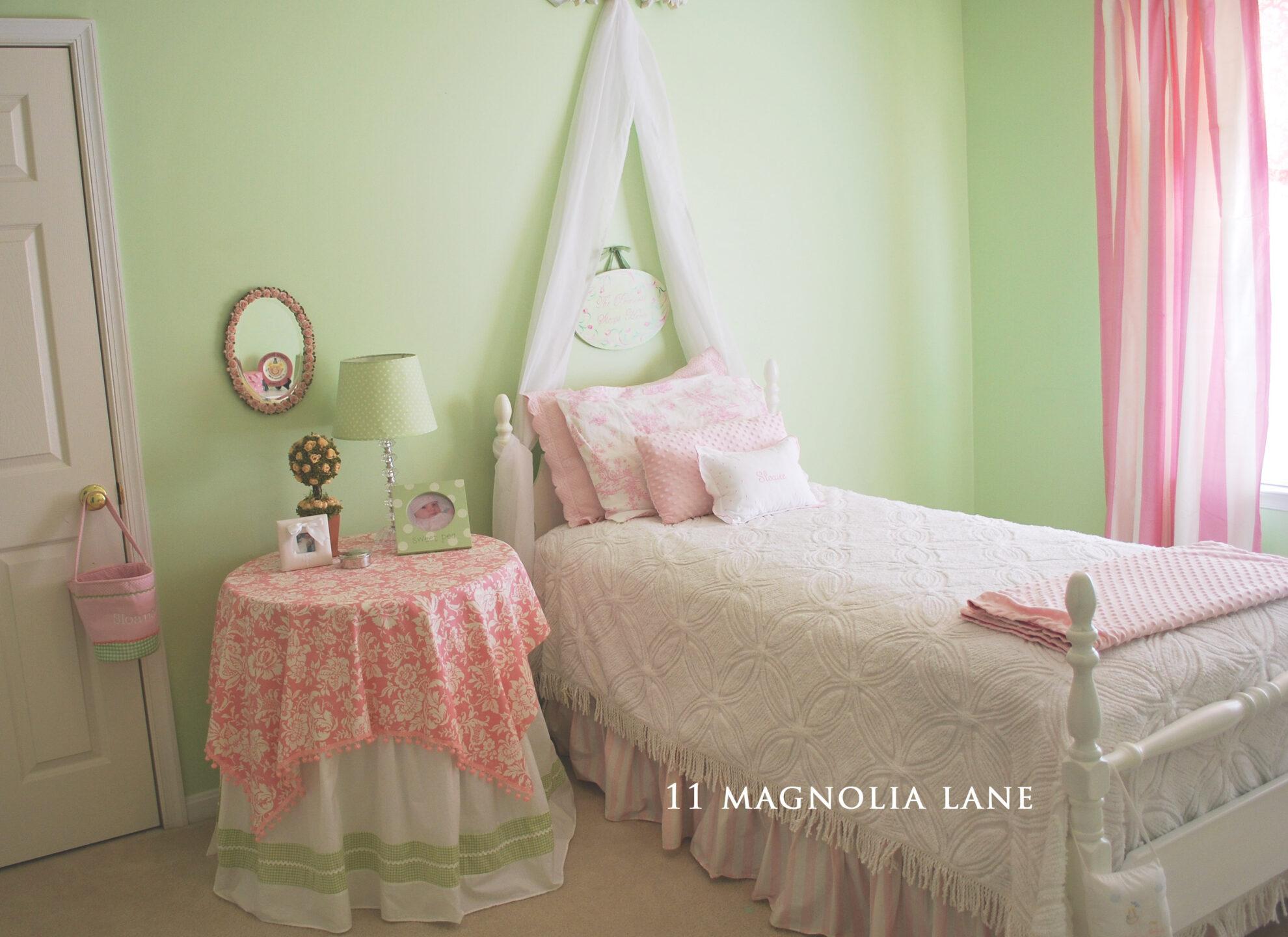 Sloane\'s Big Girl Room | 11 Magnolia Lane