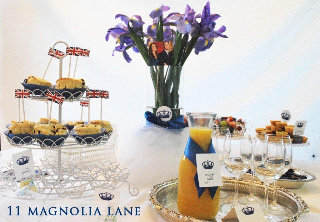 The Wedding Breakfast Table