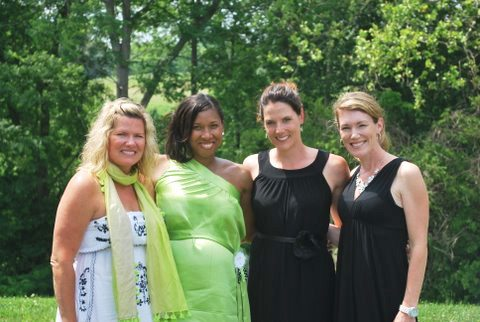 Left-Right: Tracey, Trinity, Terry and Amy