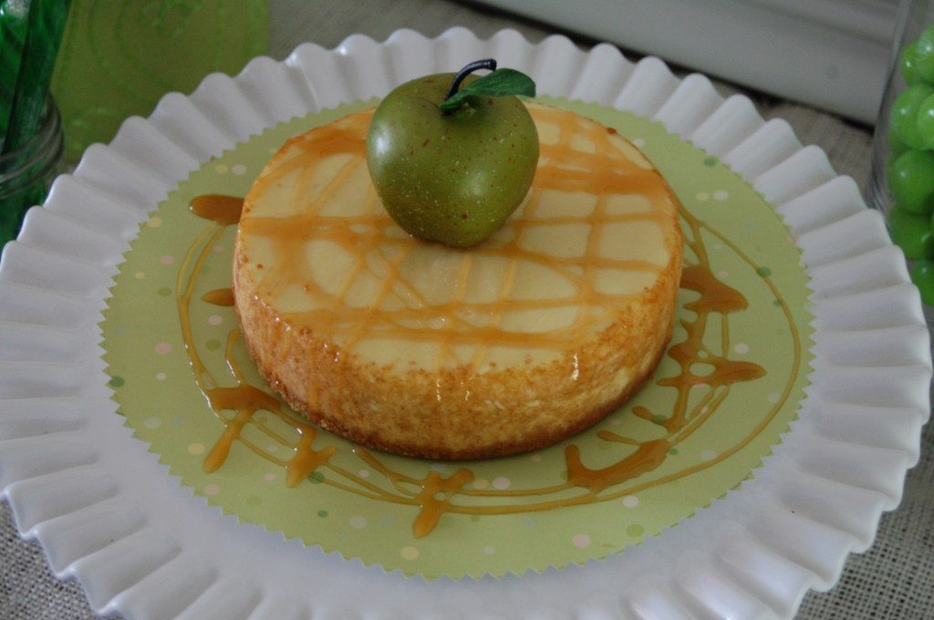 Dessert: Caramel Apple Cheese Cake