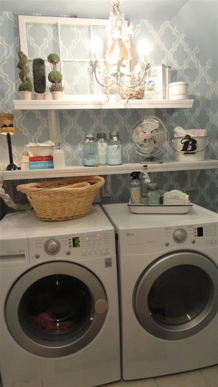 Laundry Room Redo–Making the Most of a Small Space