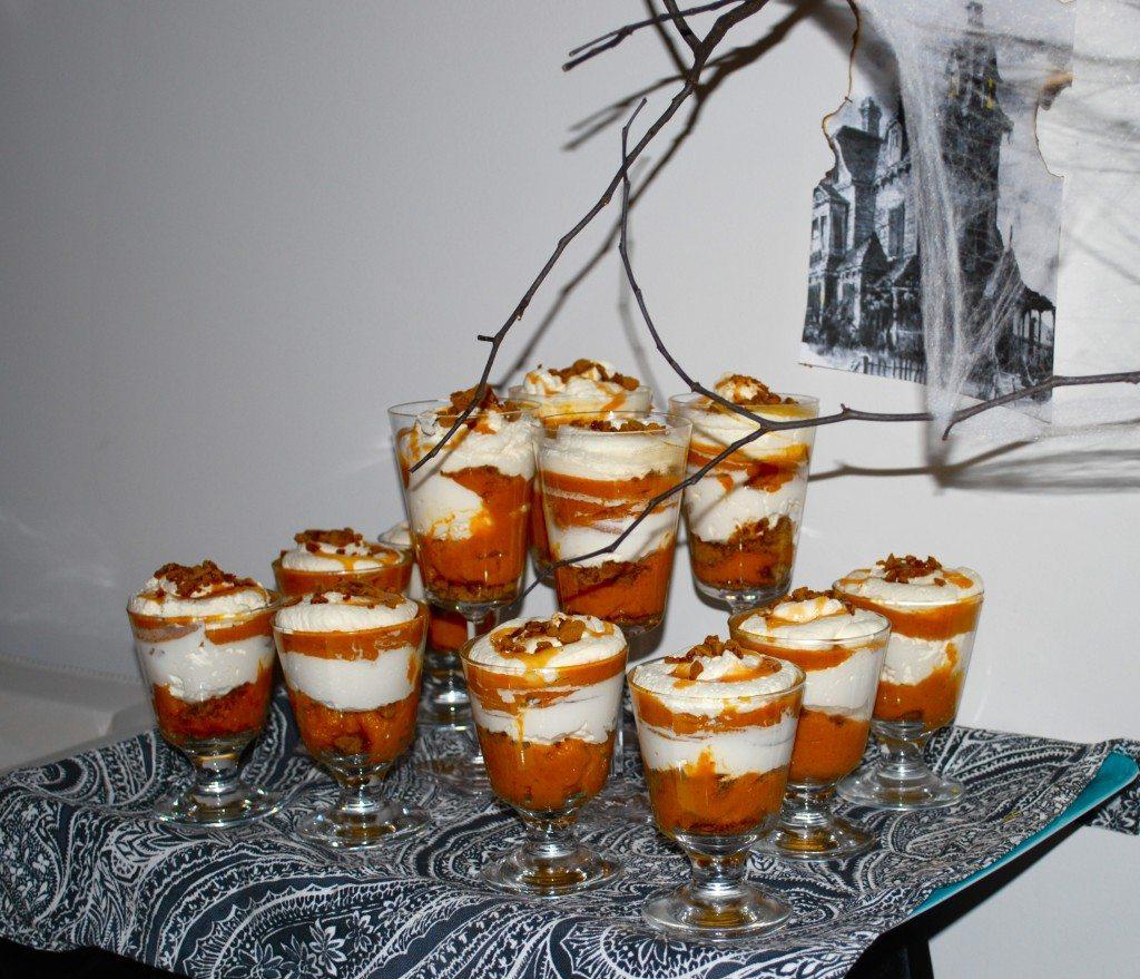 Dessert: Ina Garten's Pumpkin Parfaits-- To Die For!!!