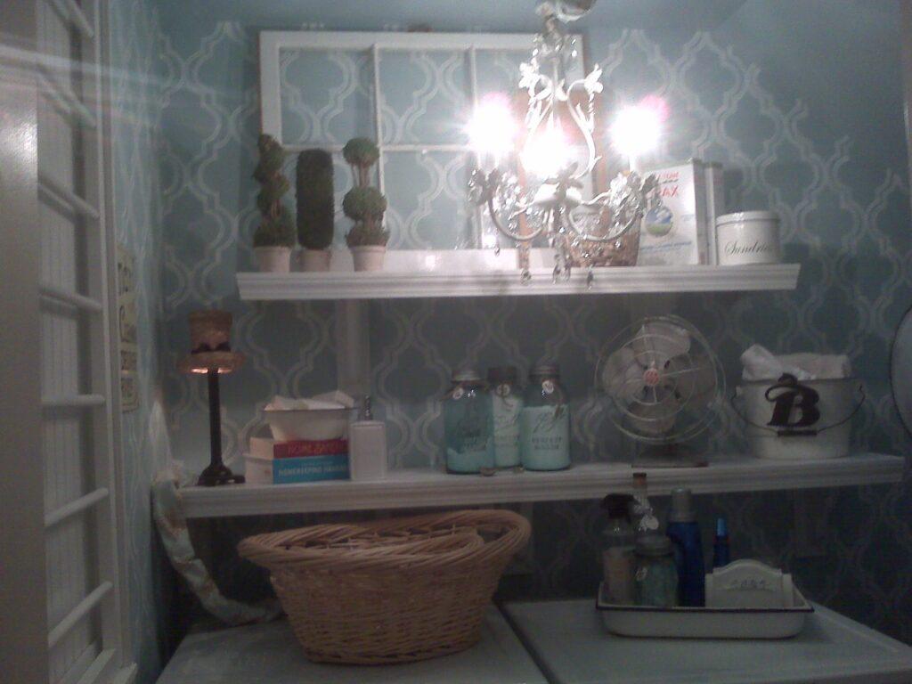 Laundry Room Redo Part 2–a few more tweaks