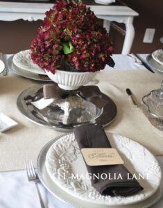 Thanksgiving Table & Give Thanks Printable