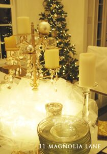 A Winter Fondue Party