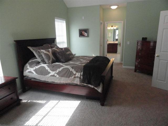 grey white pink bedroom