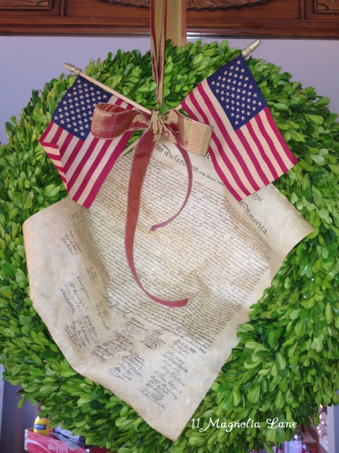 July 4th wreath
