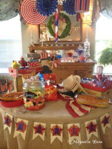 Festive Fourth of July Picnic