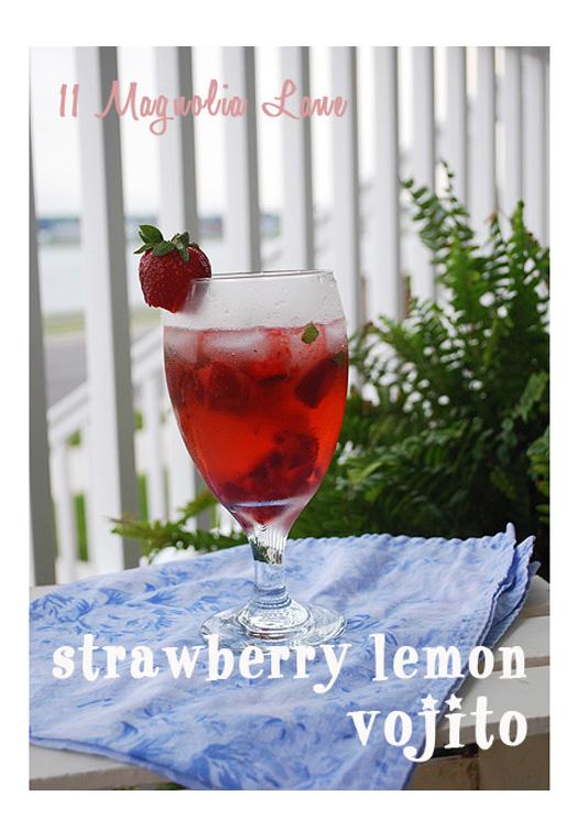 Strawberry vojito recipe