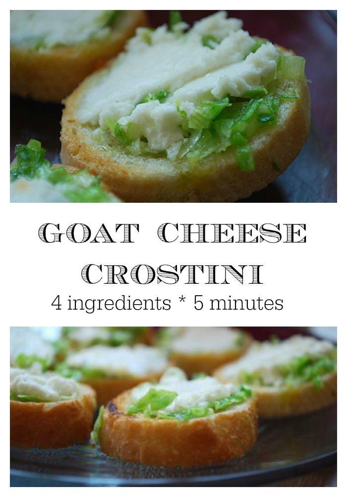 Goat Cheese Crostini Recipe