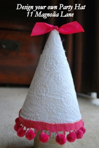 Fabulous DIY First Birthday Hat