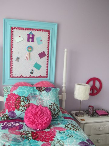 Turquoise Pink And Purple Bulletin Board 11 Magnolia Lane