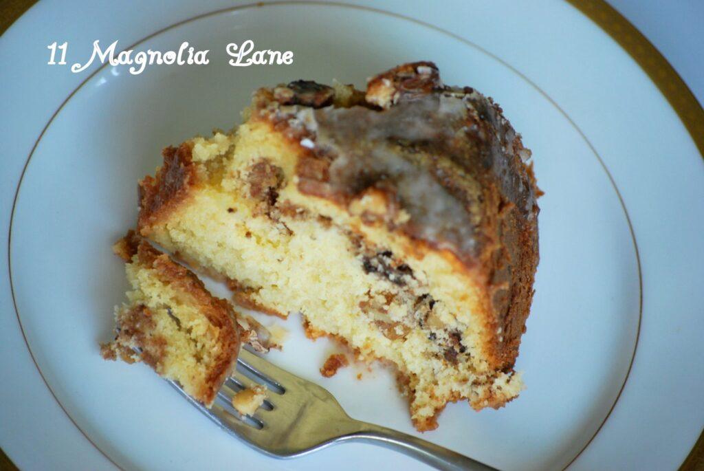 The Perfect Fall Dessert: Rum Raisin Sour Cream Coffee Cake