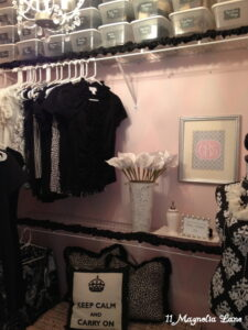 My Pink & Silver Closet Reveal--Organized Bliss!