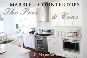 The Real Story On {or Pros & Cons of} Marble Countertops