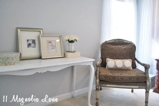 master bedroom blue grey