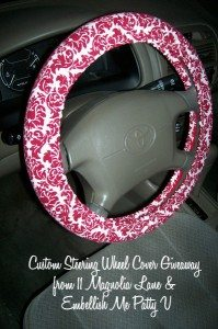 Fabric Steering Wheel Cover Giveaway