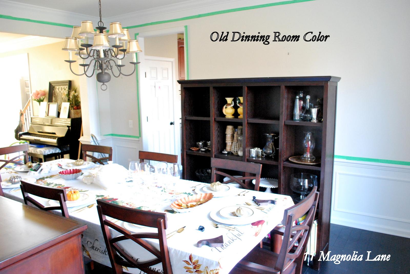 Dining Room Makeover Bm Revere Pewter Paint