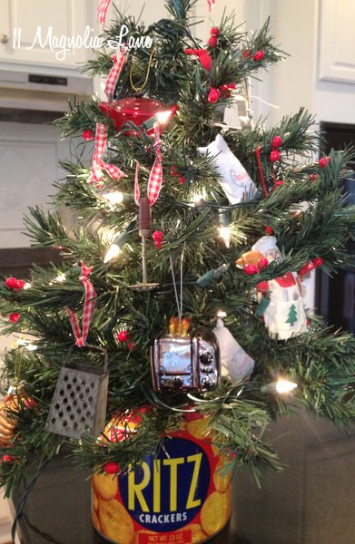 Christmas Vignettes And My Kitchen And Laundry Room Trees