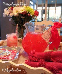 A Sweet Christmas Treat--Cherry Limeade Recipe