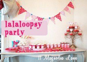 Lalaloopsy 4th Birthday Party