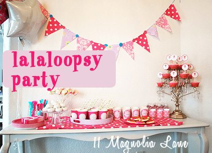 Lalaloopsy 4th Birthday Party
