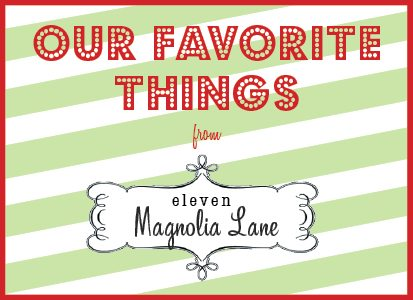 our favorite things button