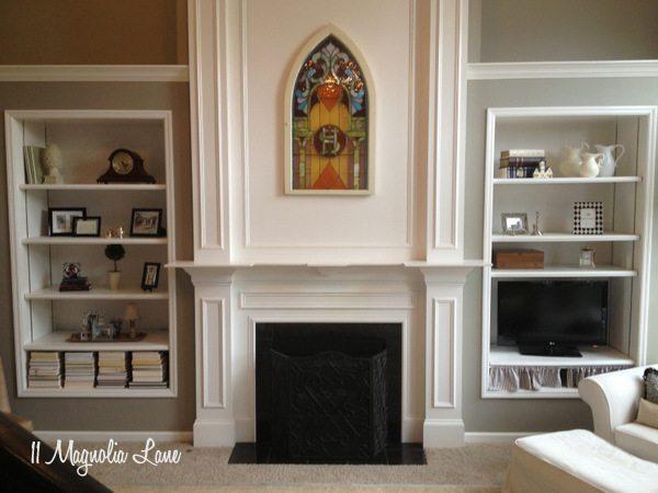 Living room at 11 Magnolia Lane