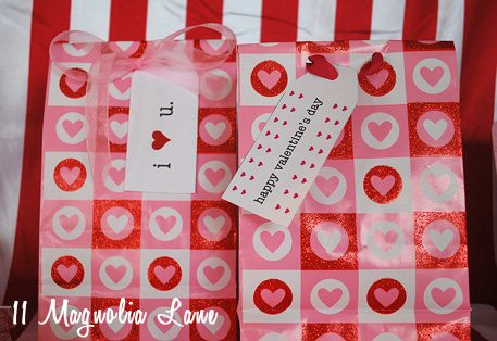 valentine bag printable
