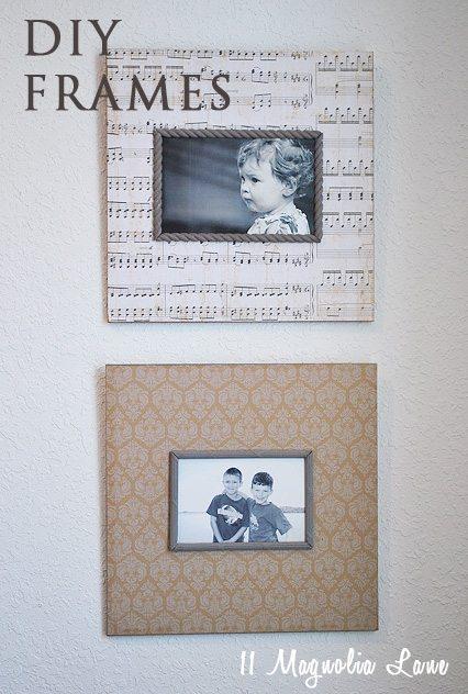 DIY Frames Marked