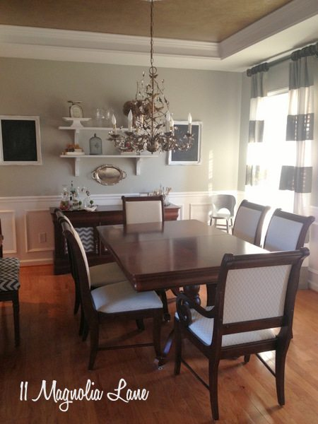 Dining room at 11 Magnolia Lane