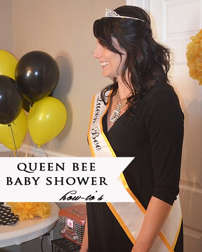 Queen Bee Themed Baby Shower