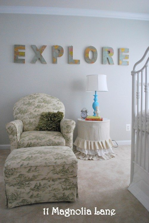 Map Baby Nursery