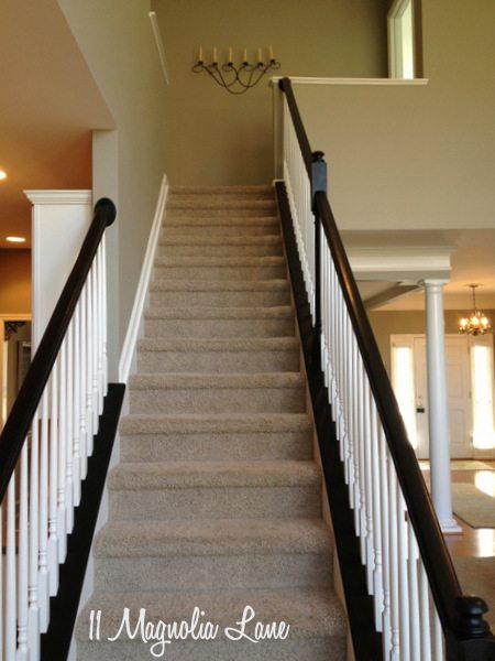 Stairs at 11 Magnolia Lane