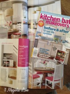 My Kitchen~~In A Magazine?!  Why, Yes, Thank You, It Is!