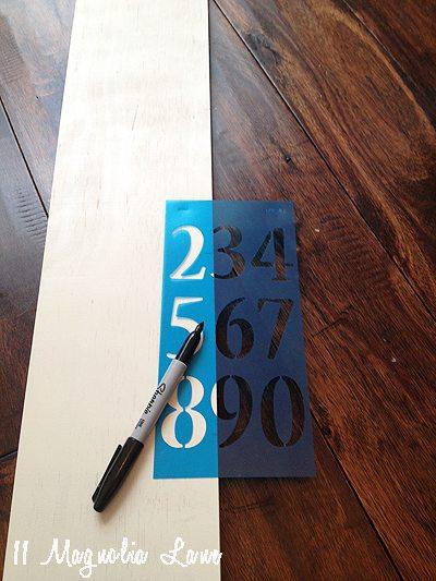 board stencil