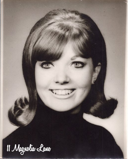 Mom's school photo (as a teacher) in 1969