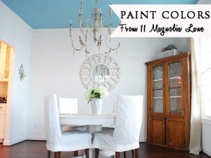 The Paint Colors at 11 Magnolia Lane