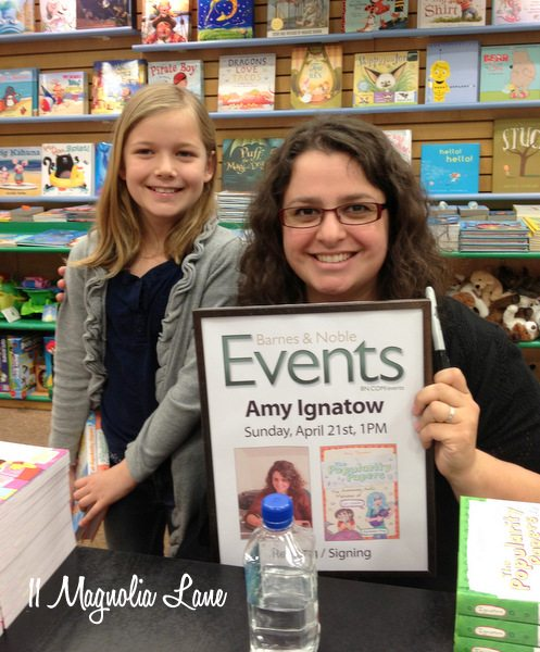 Amy Ignatow book signing