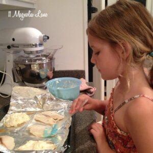 Kid-Friendly Recipe:  Broiled Tilapia Parmesan