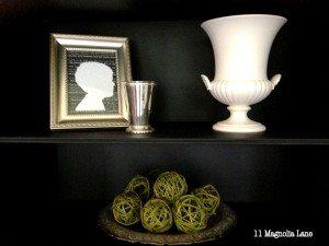 Silohette on Kitchen Cabinet