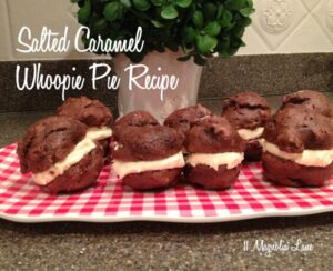 Yummiest Dessert Recipe Ever: Salted Caramel Whoopie Pies