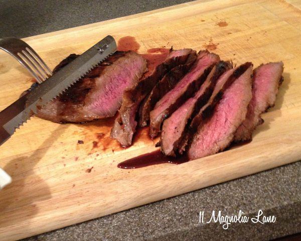 flank steak marinate