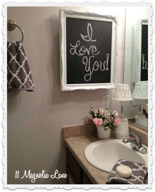 how to decorate a rental bathroom