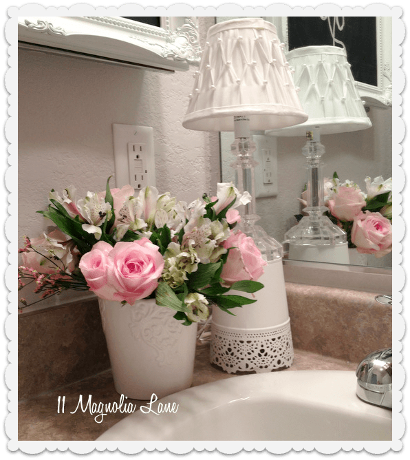 bathroom decor rental