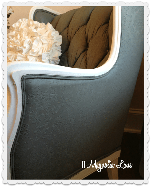 tutorial how to paint upholstery fabric and completely transform a